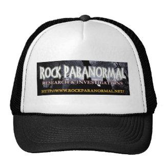 Logotipo paranormal 2 de la roca gorros bordados