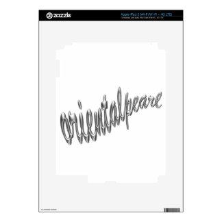 logotipo .pdf del orientalpearl pegatina skin para iPad 3