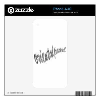 logotipo .pdf del orientalpearl skins para eliPhone 4