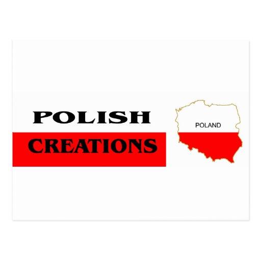 Logotipo polaco 1 tarjetas postales