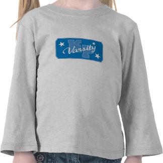 Logotipo posible Disney del equipo universitario d Camisetas
