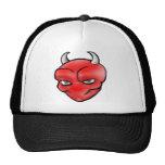 Logotipo principal del demonio gorras