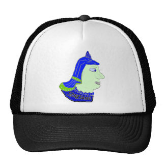 Logotipo principal espartano púrpura, oscuro y ver gorras