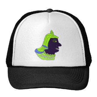 Logotipo principal espartano verde/azul/negro gorro