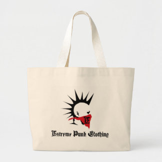 Logotipo punky extremo Totebag Bolsa De Mano