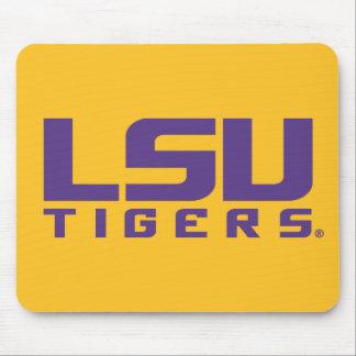Logotipo púrpura de los tigres de LSU Tapete De Ratón