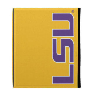Logotipo púrpura y blanco de LSU