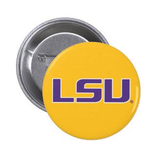 Logotipo púrpura y blanco de LSU Pins