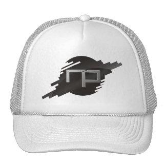Logotipo putrefacto de la oscuridad del hombre de  gorras de camionero