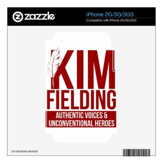 Logotipo que coloca de Kim iPhone 3GS Skins