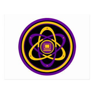 Logotipo radiactivo de Netsurfer Postal