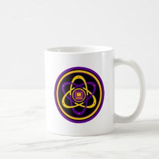 Logotipo radiactivo de Netsurfer Tazas De Café