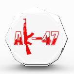 Logotipo Red.png del rifle de asalto de AK-47 AKM