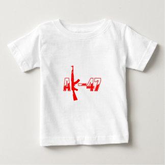 Logotipo Red.png del rifle de asalto de AK-47 AKM Playera De Bebé