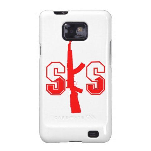 Logotipo Red.png del rifle de asalto de SKS Galaxy SII Carcasa