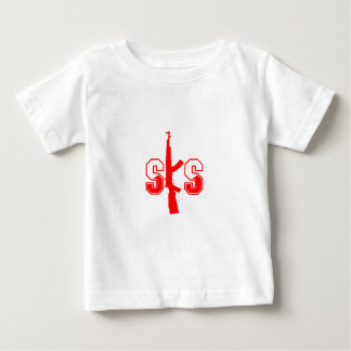 Logotipo Red.png del rifle de asalto de SKS Playera De Bebé