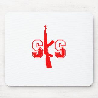 Logotipo Red.png del rifle de asalto de SKS Tapetes De Raton
