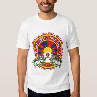 Logotipo redondo libre de Tíbet Polera