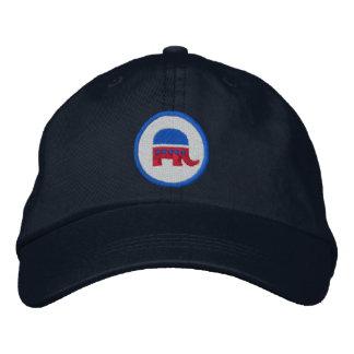 Logotipo republicano gorro bordado
