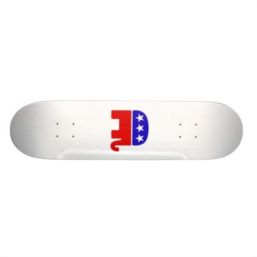 Logotipo republicano tablas de skate