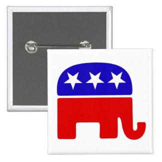 Logotipo republicano pin