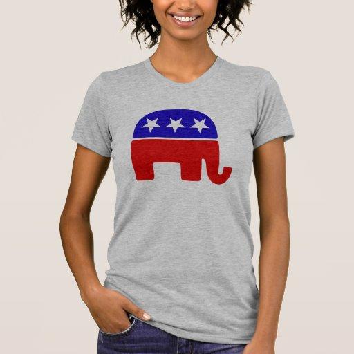 Logotipo republicano remera