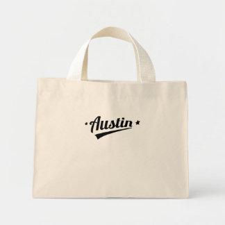 Logotipo retro de Austin Bolsa Tela Pequeña