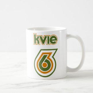 Logotipo retro de los años 70 de la taza de KVIE