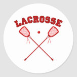 Logotipo rojo de LaCrosse Pegatinas