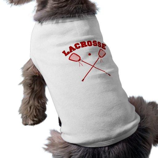 Logotipo rojo de LaCrosse Prenda Mascota