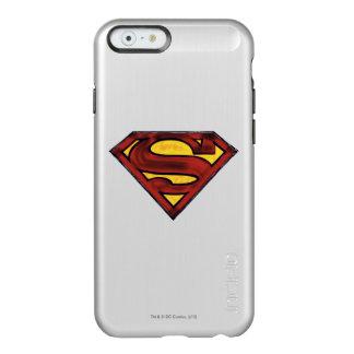 Logotipo rojo oscurecido el | del S-Escudo del Funda Para iPhone 6 Plus Incipio Feather Shine
