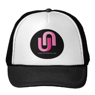 Logotipo rosado de YOUnite Gorros