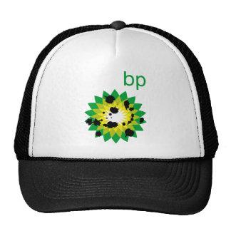 Logotipo salpicado aceite de BP Gorro De Camionero