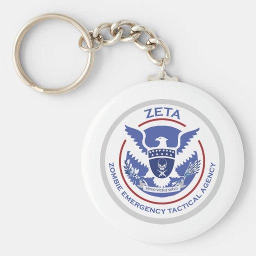 Logotipo/sello tácticos de la agencia de la emerge llavero personalizado