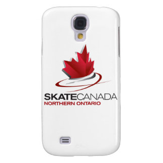 Logotipo septentrional de Canadá Ontario del patín
