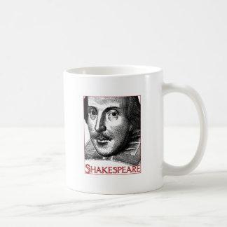 Logotipo simple de Shakespeare Taza Clásica