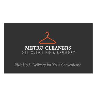 Logotipo simple para los tintoreros, envío de la s tarjetas de visita