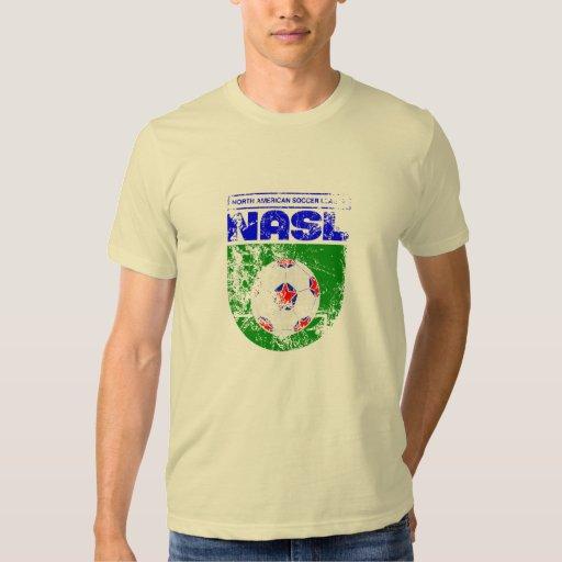 Logotipo Sirt del fútbol del vintage de NASL Remeras