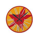 Logotipo sólido de la obra clásica de HarmoniE Reloj Redondo Mediano