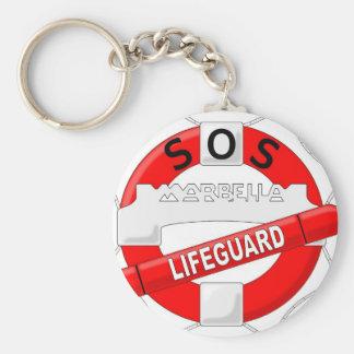 logotipo_sosmarbella basic round button keychain