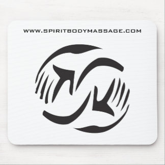 logotipo spiritbody, WWW.SPIRITBODYMASSAGE.COM Tapete De Raton