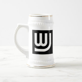 Logotipo Stein de WJ Jarra De Cerveza