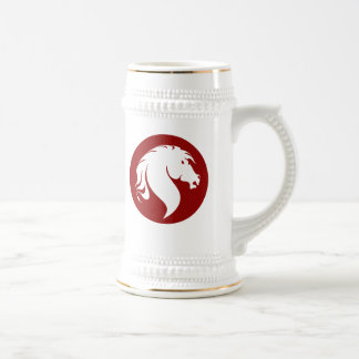 Logotipo Stein del caballo Tazas De Café