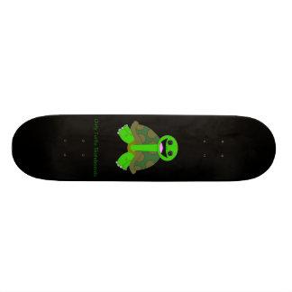 Logotipo sucio de la tortuga, negro patines