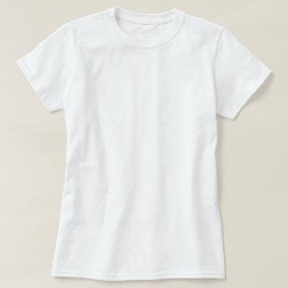 Logotipo T de la muñeca de las señoras Camisas
