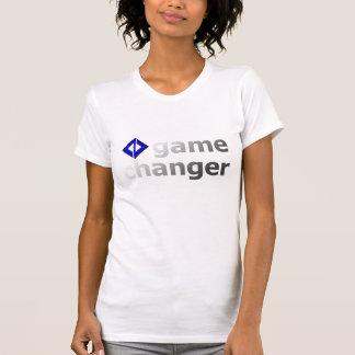 Logotipo T del cambiador del juego Camiseta
