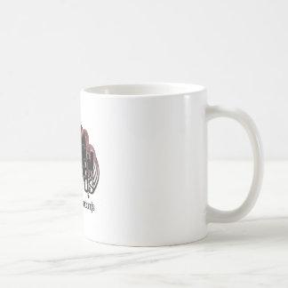 logotipo taza básica blanca