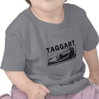 Logotipo transcontinental/negro de Taggart Camiseta