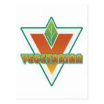 Logotipo vegetariano postal
