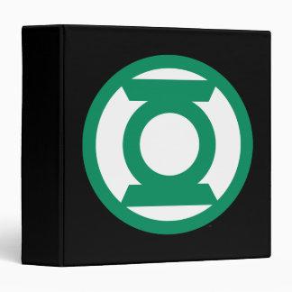Logotipo verde 13 de la linterna